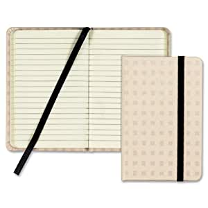 Tops Designer Notebook, Tan Cover, Ruled, 5.5 x 3.5 Inches, Premium Ivory, 96 Sheets (GJ5058)