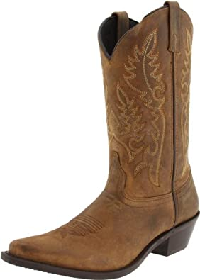 Laredo Women's Providence Boot,Tan Crazyhorse,7.5 B (M) US