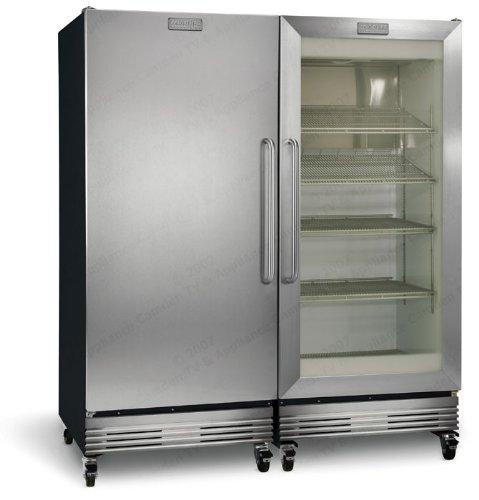 ft commercial refrigerator freezer combo fcgm201rfb_fcfs201lfb - Commercial Refrigerator For Sale