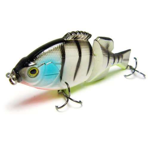 Best Price 2 Fishing Super Hard Lures/baits Joint Swimbaits Blue Gills Fighter Bass Fishing (as shown in picture lot174)