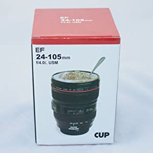 24-105mm Travel Coffee Mug / Cup / Thermos with Drinking Lid & Quality Stainless Steel Interior