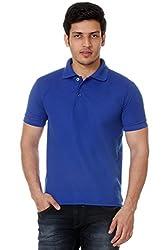 Men's Polo T shirt (Small)_TM - 1591BLUE-S