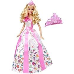 Barbie Princess Happy Birthday Doll