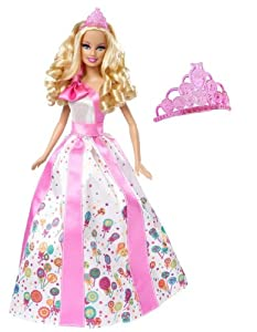 Barbie Princess Happy Birthday Doll