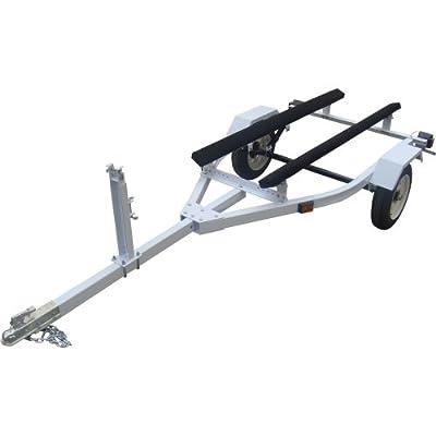 - Ironton Personal Watercraft and Boat Trailer Kit - 610lb. Load Capacity