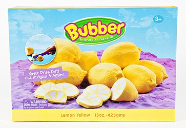 BUBBER BOX 15 OZ YELLOW