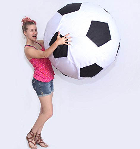 EasyGo Giant Soccer Ball - Large Soccer Ball good for Special Events, Beach, Camping and Schools. 40 Inch Size Qty