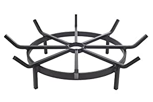 Heritage Products Wagon Wheel Grate for Outdoor