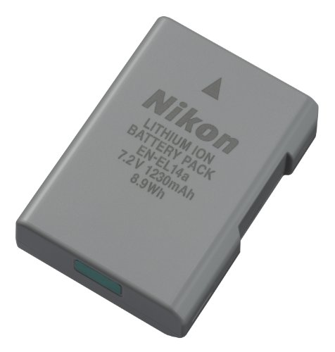 Nikon-27126-EN-EL-14A-Rechargeable-Li-Ion-Battery-Grey