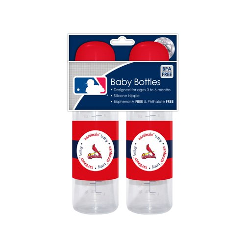Mlb St. Louis Cardinals Baby Bottles, 2-Pack front-1021932