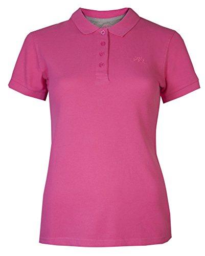 Da donna T-shirts Tops a maniche corte Polo Brody & Co® sportiva da tennis Palestra Cerise 42