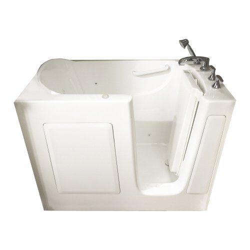 American Standard 3151.201.WRW 31-Inch By 51-Inch Whirlpool Gelcoat Walk-In Bath, White, Right Hand