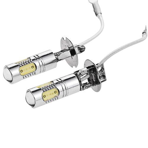 12V 24V H3 7.5W 6000K Xenon White Projector 5 Smd Led Daytime Running Light Driving Fog Headlight Lamp