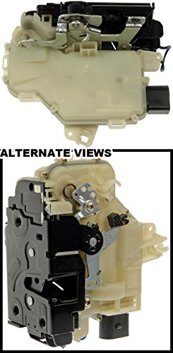 APDTY 042611 Door Latch w/Integrated Lock Actuator Motor Fits Front Left (Driver-Side) 1999-2010 Volkswagen Beetle / 1999-2005 VW Jetta / 1999-2005 VW Passat / 1999-2006 VW Golf / 2003-2009 VW GTI (Replaces VW 3B1 837 015 AS, 3B1837015AK, 3B1837015J)