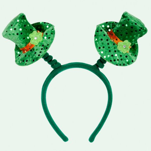 Leprechaun Hat Boppers Party Accessory (1 count) (1/Pkg)
