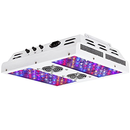 VIPARSPECTRA-Dimmable-Series-PAR450-450W-LED-Grow-Light-3-Dimmers-12-Band-Full-Spectrum-for-Indoor-Plants-VegBloom