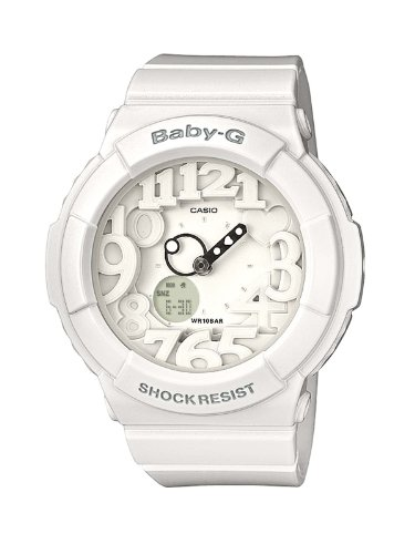 Baby-G Ladies Watch BGA-131-7BER with Combi Resin Strap