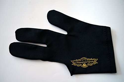 Champion Sport Billiards Left Hand Glove For Pool Cues Size:Xl
