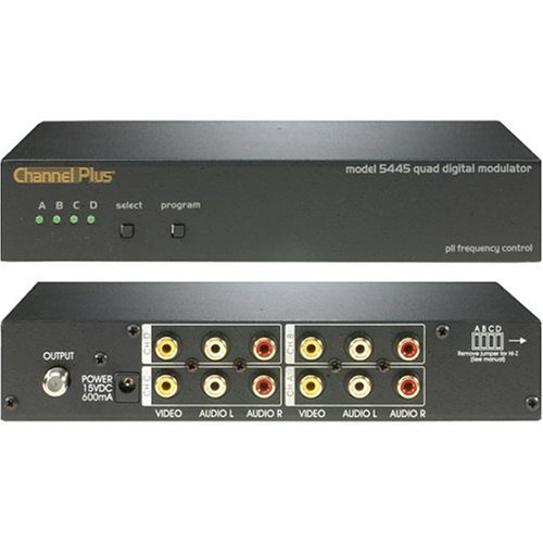 Channel Plus 5445 Quad Channel Rf Modulator