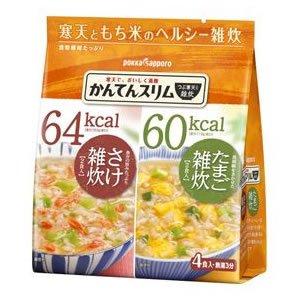 かんてんスリム和風アソートパック4食入 72.6g