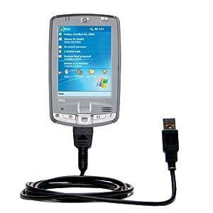 Un câble USB Charge/HotSync lisse pour le HP iPAQ hx2700 Series