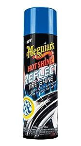 Meguiar's G18715 Hot Shine Reflect Tire Shine, 15 oz from Meguiar's