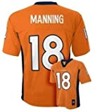 Peyton Manning Denver Broncos Orange NFL Kids 2015-16 Season Mid-tier Jersey