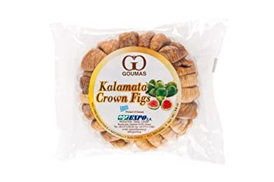 Kalamata Crown Figs, Dried (Goumas) Net Wt. 14 oz from Goumas