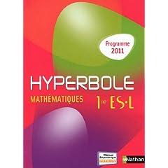 Mathématiques 1e ES L : Programme 2011