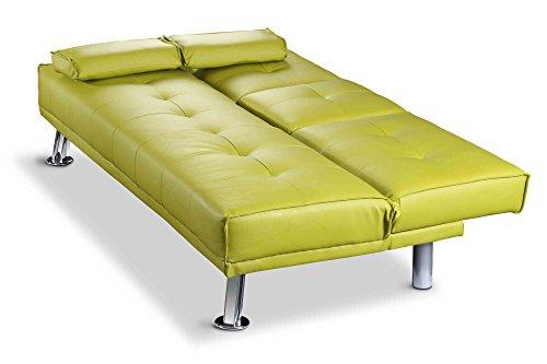 Sleep design manhattan   divano letto pieghevole in ecopelle, 3 ...