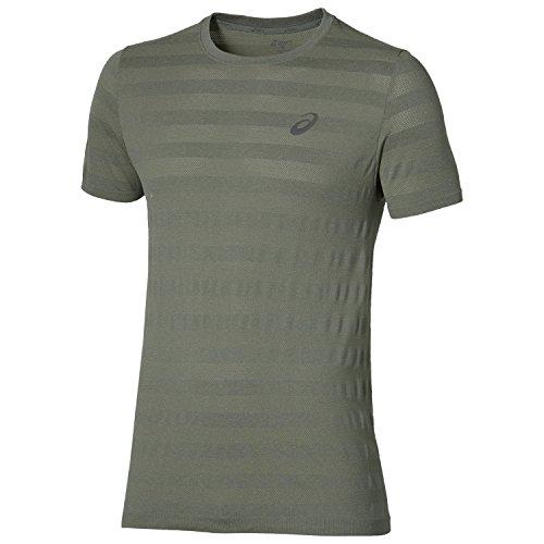asics-fuzex-seamless-maglietta-da-corsa-aw16-green-xx-large