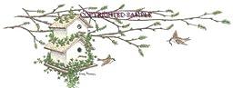 Birdhouse Spring - Drawing by Cindy Farmer