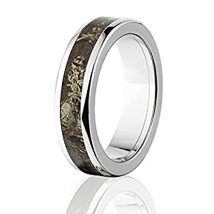 RealTree Max 1 Titanium Ring, Camo Rings