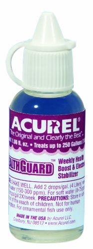 Imagen de Acurel LLC Healthguard 25 ml acuario y estanque agua tratamiento trata, 250 galones