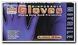 Permatex 09184 Medium Disposable Nitrile Gloves, Box of 100