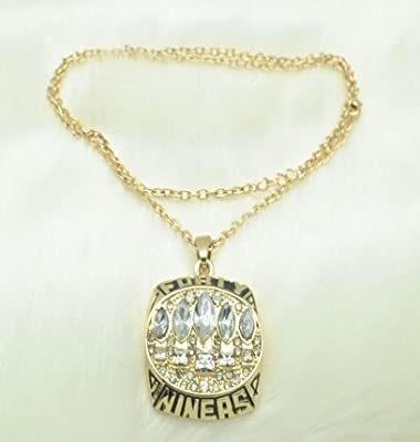 San Francisco 49ers Necklace - Charm Chain Pendant Jewelry Unisex - 1994 49ers Super Bowl Champions Memorabilia - Shipped from USA