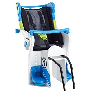 Kettler Flipper Bike Seat, Black Blue by Kettler