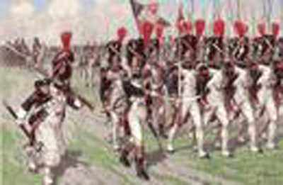 Zvezda 1:72 French Imperial Old Guards (1804 to 1815) Grenadiers