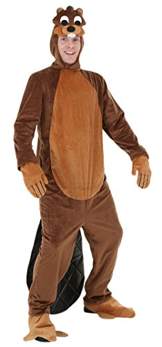 Ace Halloween Unisex Adult Deluxe Funny Animal Beaver Costumes