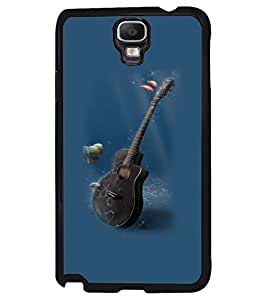 Printvisa Underwater Guitar Back Case Cover for Samsung Galaxy Note 3 Neo N7505