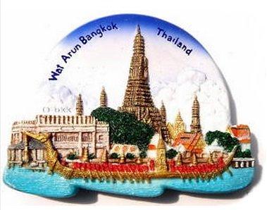 wat-arun-bangkok-thailand-souvenir-3d-resin-toy-fridge-magnet-schiff-frei
