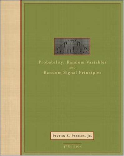 Probability, random variables, and random signal principles