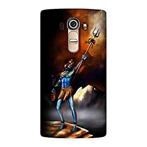 Ajay Enterprises Shiv with Trishul Power Back Case Cover for LG G4