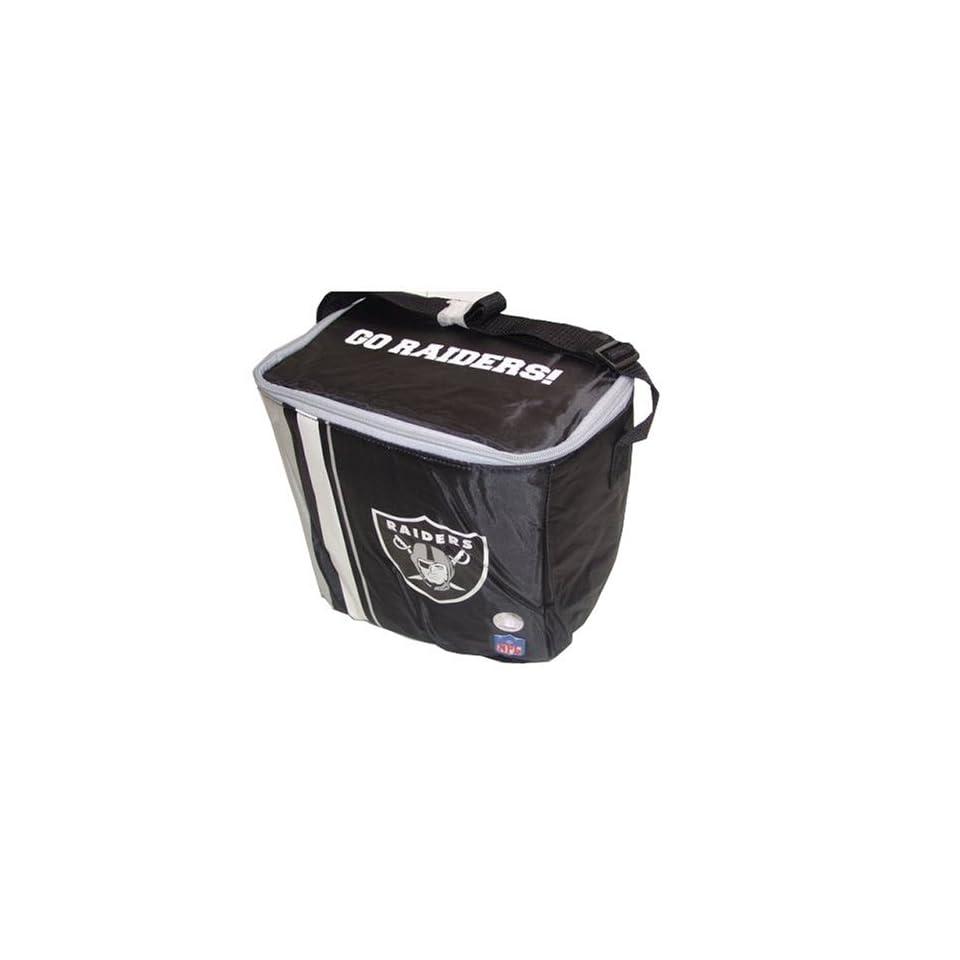 Oakland Raiders NFL 16 Can Team Logo Cooler Bag