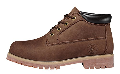 Guciheaven Winter Men New Style Caual Leather Cotton-Padded Shoes(9.5 D(M)Us, Coffee)