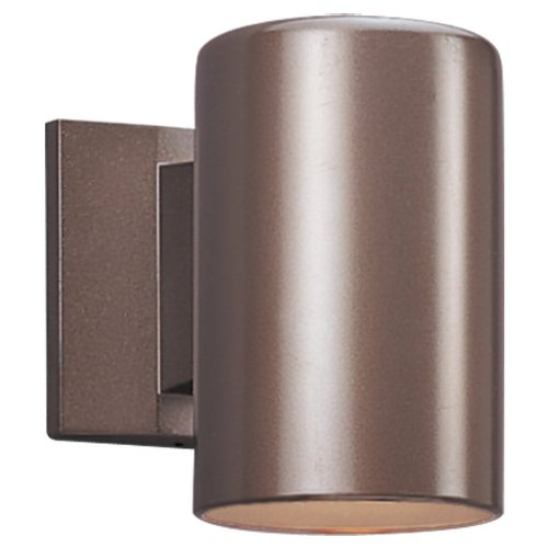 Sea Gull Lighting 8338-10 Dark Sky Outdoor Wall Lantern Bronze Aluminum