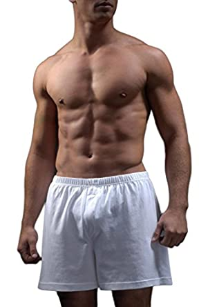 ALLYN SAINT GEORGE MEN'S 5 PACK KNIT BOXERS (X-LARGE)
