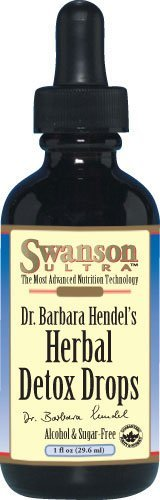 Swanson - Premium Herbal Detox Drops (1 fl. oz) 4 Bottles