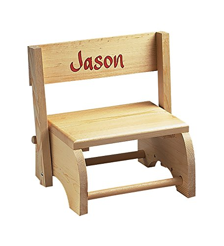 Miles Kimball Wooden Personalized Childrens Chair