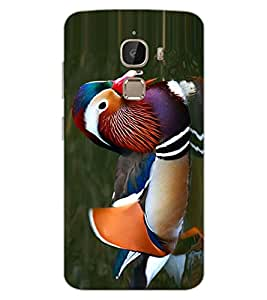 ColourCraft Beautiful Duck Design Back Case Cover for LeEco Le 2